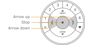 Remote arrow stop
